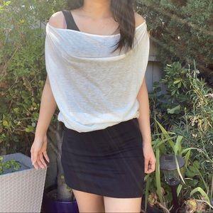 Tunic bodycon mini dress M